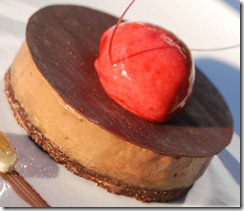 Chocolate  Dessert at Coral Beach 2 10-08