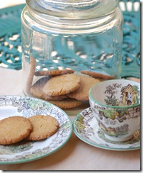 Ginger biscuits - Katie Stewart recipe