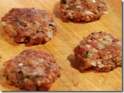 Kofta - making into patties