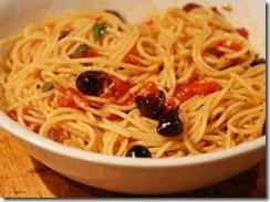 Spaghetti Putanesca, 1