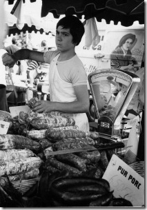 1973 - Brittany 6 - the sausage seller