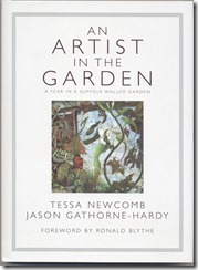 AN ARTIST IN THE GARDEN -Cover