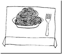 CGM-12-ITALIAN - Spaghetti drawing
