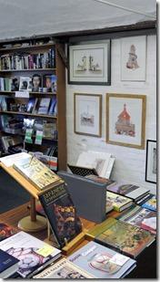 Saxmundham - Crisp's 8 - book & prints dept