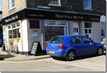 Saxmundham - Trinity's Exterior