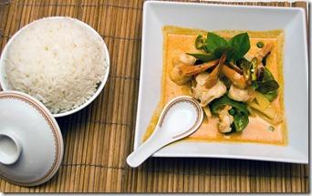 Thai - Red Curry Prawns (Phuket) 11-08 Barrie Allington