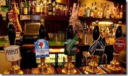 Badingham White Horse - beers