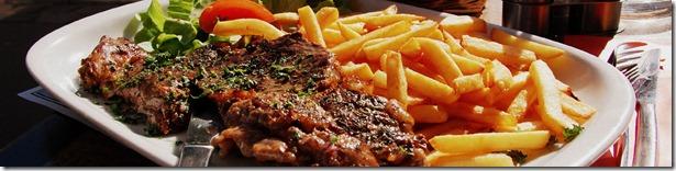 Badingham White Horse - steak ansd chips
